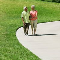 Walking for fitness is good aerobic exercise if you have type 2 diabetes. When it comes to diabetes and exercise, here's how to get started on the right foot.