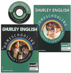Shurley English Homeschool Kit Level 3 | Main photo (Cover). This is an excellent program!!