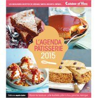 L'agenda pâtisserie 2015 - Marie Claire Idées