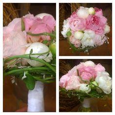 """5 likerklikk, 1 kommentarer – Botanica Blomster (@botanicablomster) på Instagram: """"Helgens brud.  #peon #corocia #ceropegia #brud #brudebukett #bryllup #wedding #bridalbouquet"""" Instagram Posts"""