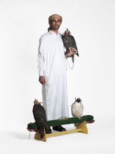 Dubai to Karachi Professional bird trainer from UAE, taking three falcons to Pakistan for a competition; all flying first class Mathias Braschler and Monika Fischer