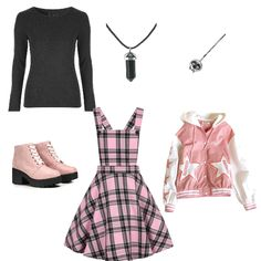 Like my look? Tag someone who would wear it. Cute Goth Outfits, Bad Girl Outfits, Pastel Goth Outfits, Pastel Goth Fashion, Pastel Outfit, Pastel Goth Clothes, Grunge Outfits, Harajuku Fashion, Harajuku Girls