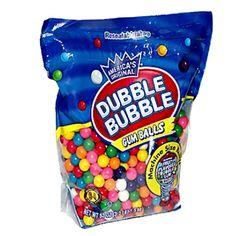 Dubble Bubble Machine Size Gum Ball Refills, Lbs for sale online Bubble Birthday Parties, Birthday List, Twin Birthday, Frozen Birthday, Mermaid Birthday, Birthday Cakes, Birthday Invitations, Birthday Ideas, Bubble Gum Flavor