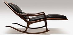Sam Maloof - the essence of rocking chair perfection