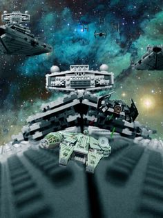 Star Wars, Lego ,millennium falcon, tie fighter ,imperial star destroyer ,Han Solo ,Darth Vader