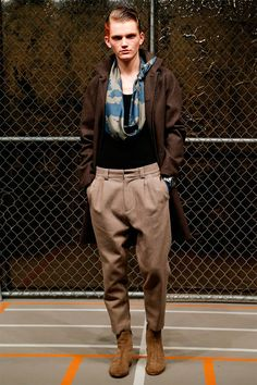Robert Gellerpresentedhis Fall/Winter 2015 collectionduringNew York Fashion Week.