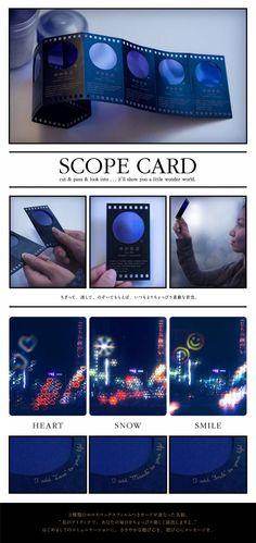 SCOPE CARD