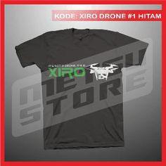 Kaos Drone Xiro Xplorer Kaos Distro Kaos Hitam Metsu Store