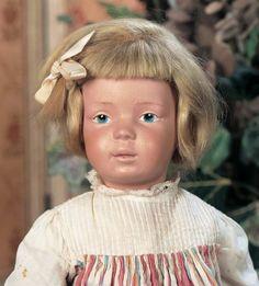 Scenes from the Court: 119 American Wooden Schoenhut Girl,Model 301