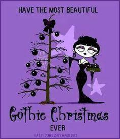Merry Christmas everyone! Dark Christmas, Halloween Christmas, A Christmas Story, Christmas Art, All Things Christmas, Halloween Ornaments, Christmas Greetings, Different Holidays, Merry Christmas Everyone
