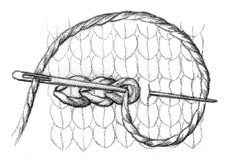 Chain Stitch - If you need to embroider your knits, the chain stitch works great. Here's how to do it. - Knitting Daily