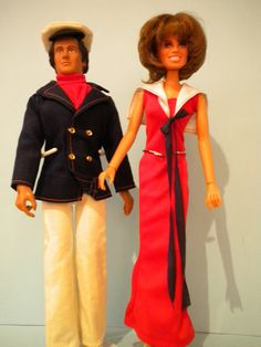 Musical Entertainers - The Captain & Tennille (Daryl Dragon & Toni Tennille - Mego 1977