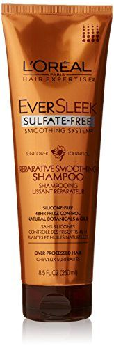 LOreal Paris EverSleek SulfateFree Smoothing System Reparative Smoothing Shampoo Sunflower 85 fl OzPacking May Vary * You can find more details by visiting the image link.