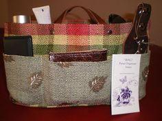 purse organizer insert /EXTRA Sturdy/Shaper by malycreations, $29.99