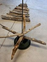 Blue Somersault * Learn How to Make a Driftwood Christmas Tree