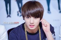 """150307 BTS """"TRB in Taipei"""" Press Conference #Jungkook ♡"""