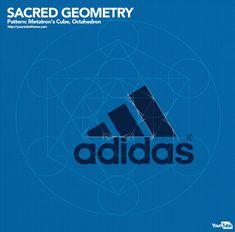 Sacred Geometry in Adidas Logo Fractal Geometry, Sacred Geometry, Autocad, Golden Ratio In Design, Logo Guidelines, Circle Geometry, Math Poster, Logo Branding, Logos