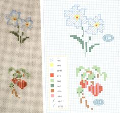 flower cross-stitch