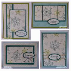 SU! One Sheet Wonder using Endless Wishes stamp set in Lost Lagoon, Pear Pizzazz and Soft Sky - Paula Reid