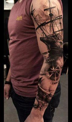 30 coole Ärmel Tattoo Designs - - tattoo old school tattoo arm tattoo tattoo tattoos tattoo antebrazo arm sleeve tattoo Trendy Tattoos, Popular Tattoos, Tribal Tattoos, Tattoos For Guys, Colorful Tattoos, Geometric Tattoos, Tattoos Pics, Best Tattoos For Men, Polynesian Tattoos
