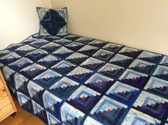 Log cabin Cabin, Quilts, Blanket, Home, Cabins, Quilt Sets, Ad Home, Cottage, Blankets