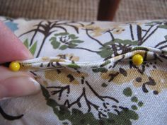 Hand sewing an invisible stitch