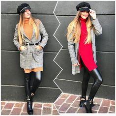 Κρύο με στυλ🧣🧣🧣  Flat 🧢 22.50€  Coat 89.90€  Sweater 32.90€  Legging vinyl 19.90€