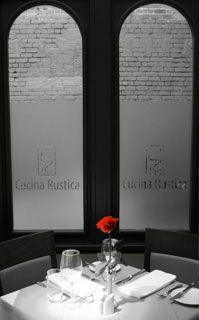 Restaurante Cuccina rustica