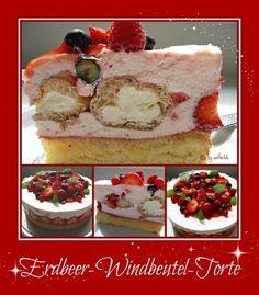 'Erdbeer-Windbeutel-Torte'