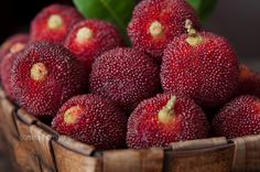 Yumberry, native to Asia and culitivated in China for 2000 years with sweet and sour flavor