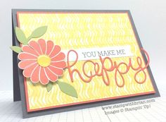 Crazy About You, Stampin' Up!, Brian King.  four new products – Best Day Ever Designer Series Paper (Sale-a-Bration), Crazy About You photopolymer stamp set (Occasions), Hello You Thinlits (Occasions) and Itty Bitty Accents Epoxy Stickers (Occasions)