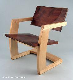 Palo Alto Low Chair by J. Rusten Furniture Studio