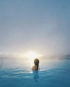 Unwind the clock of modern life and embrace the unforgettable wonders of the Blue Lagoon 😍 Blue Lagoon, Iceland, Sunrise, Waves, Modern, Clock, Life, Outdoor, Ice Land