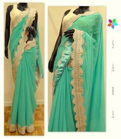 mint saree - Google Search