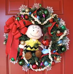 Charlie Brown Christmas Wreath, by IrishGirlsWreaths