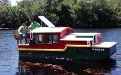 Michae's Tiny Shantyboat Experience at St. John River Florida