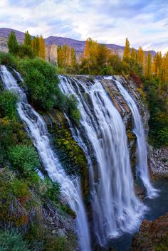Tortum waterfall in Turkey Waterfall Fountain, Falling Waters, Beautiful Waterfalls, Gap Year, All Over The World, Rivers, Beautiful World, Ankara, Serenity