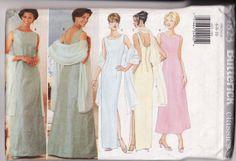 WOMENS PATTERN Butterick 4823 Easy Dress and Stole by retrochick66, $6.95