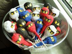 suckers Ninjago Birthday Party Karate Party, Karate Birthday, Ninja Birthday Parties, Birthday Ideas, Lego Parties, 9th Birthday, Lego Ninjago, Ninjago Party, Lego Lego
