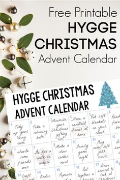 The holidays can be stressful but they don't have to be! Have the coziest most relaxed Christmas ever with this Hygge Christmas Advent Calendar! Hygge Christmas, Cozy Christmas, Little Christmas, All Things Christmas, Christmas Holidays, Christmas Crafts, Xmas, Family Christmas, Christmas Calendar