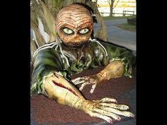 24 Awesome Zombie Cakes - Photo - TechEBlog