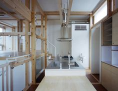 A Mono Struct House by Masato Sekiya