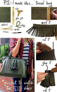 """Normal y """"Corriente""""... El blog para mujeres con Chispa*: Decora tus bolsos"""