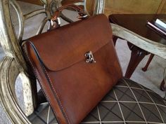 This dark brown color is becoming very popular and shows the natural grain of the leather This genuine leather all hand crafted case is perfect for any meeting or carrying Leather Laptop Bag, Leather Briefcase, Leather Backpack, Laptop Backpack, Leather Handle, Leather Men, Leather Jackets, Pink Leather, Briefcase For Men