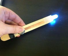 Make your own flashlight using a few simple everyday items! This hands-on project is not only fun and easy to make but illustrates how a switch works, so it can ...
