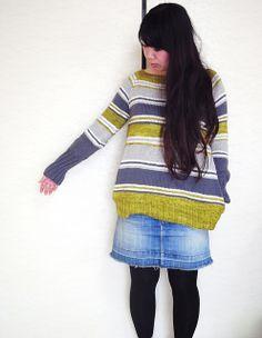 knit / Knitting pattern by La Maison Rililie: Spring Lines