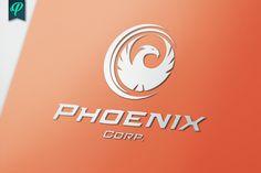 Phoenix Corporate Logo Template by PenPal on Creative Market