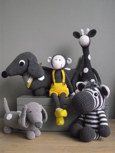 #crochet animal plush toys