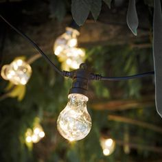 Guirlande lumineuse 20 LED lampions 1