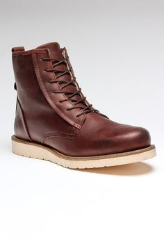 Brown Leather Men's Boot.